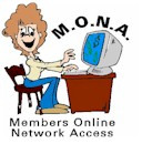 M.O.N.A - Members Online Network Access